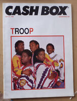 1988 CASHBOX MUSIC MAGAZINE FEATURING TROOP