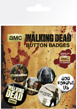 Official Football Product F.c. Club Badge Metal Pin The Walking Dead Button Set 22