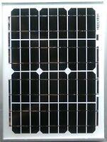 10w 10 WATT SOLAR PANEL 12 volt 12V 5M cable croc clips diode campervan caravan