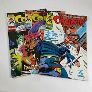 Coyote Steve Englehart Issue 4 6 and 8 Epic Comics Marvel 1984