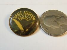 WHALE ADOPTION PROJECT TRAVEL PIN