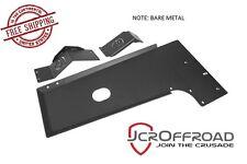JCR Offroad Engine Skid Plate - Bare Metal - fits 2007-2018 Jeep Wrangler JK JKU