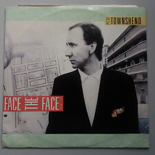 """Pete Townsend - The Who - Face the Face 12"""" Vinyl Single"""