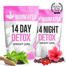 BURNFATEA TEATOX 14 DAY DETOX EXTREME WEIGHT LOSS DIET Slimming Tea BURN FAT TEA
