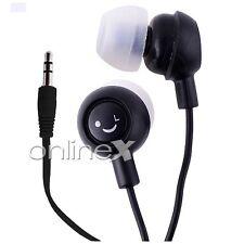 Auricular Fruit Negro Universal Jack de 3.5mm MP3, MP4, Reproductor Música a345