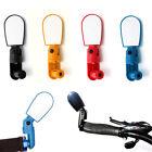 Adjustable MTB Bicycle Bike Cycling Handlebar Rearview Mirror Wide Angle