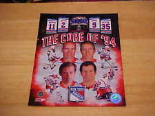 NY Rangers THE CORE OF '94 Officially LICENSED 8X10 Photo FREE SHIPPING 3/more