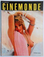 ►CINEMONDE 1821/1970-CATH. ROUVEL-ROMY SCHNEIDER-EDWIGE FEUILLERE-ALAIN DELON...