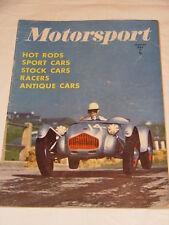 Motorsport (USA) Magazine January 1951 Vol 2 - No 1