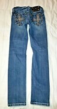 Girl's Miss Me Blue Bootcut Jeans Size 7