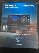New ListingXm Onyx Dock And Play Radio + Home Kit Sirius Satellite Radio New In Box Xdnx1H1