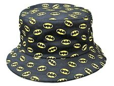 DC Comics Batman All Over Print Black Bucket Hat/Cap