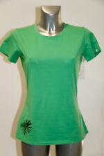 carino maglietta da donna verde di cotone in raso THE NORTH FACE Taglia M/M (36)