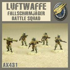 Dust Tactics 1947 Studio, Primed Luftwaffe Fallschirmjager Battle Squad - Look