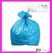 20 kg SACCHI SPAZZATURA 90x120 RACCOLTA DIFFERENZIATA AZZURRO  cartone 20kg.