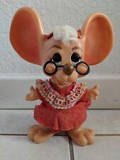 VINTAGE ROY DES OF FLA 1970 HURON MRS CLAUSE MOUSE BANKS BIG EAR (#2)