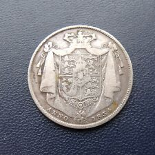 More details for 1834 half crown coin king william iiii .925 silver. british coins