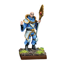 Unboxed Mantic Kings of War Metal Basilean War-Wizard