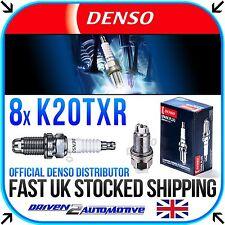 8x DENSO K20TXR (5063) NICKEL SPARK PLUGS FOR BENTLEY ARNAGE 4.4 V8 04.98-01.02