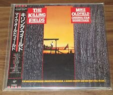 PROMO S/S Mike Oldfield JAPAN card paper sleeve CD mini LP Killing Fields OST