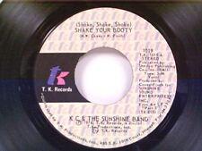 "KC & SUNSHINE BAND ""(SHAKE SHAKE SHAKE) SHAKE YOUR BOOTY / BOOGIE SHOES"" 45 MINT"