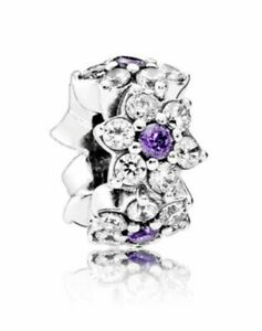 Authentic Pandora  S925 ALE Spring Collection Forget Me Not Charm  791834