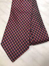 Paul Smith Krawatte 8cm RRP £ 85 Made in Italy Seide 100% Original geprüft rot