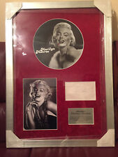 MARILYN MONROE *UNIQUE & UNDEDICATED* Signed Autograph - COA AFTAL - STUNNING!