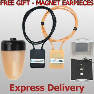 New Spy Earpiece Bluetooth Loop Set Invisible Wireless Neck Loop Transmitter