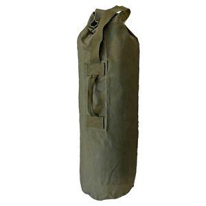 Army Kit Bag Genuine British Military Surplus Combat Work Tool Duffle Sack Olive
