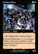 Goham Djinn EX X4 Invasion MTG Magic Cards Black Uncommon