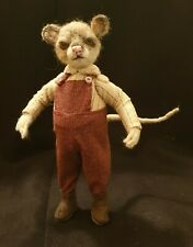 """*New* Cloth Art Doll (Paper) Pattern """"The Dormouse"""" By Suzette Rugolo"""