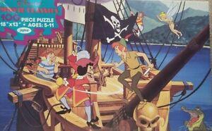 Vintage JAYMAR Walt Disney Peter Pan Jigsaw Puzzle 100% Complete