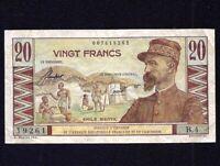 French Equatorial Africa  & Cameroun  20 Francs 1957  P-30  VF