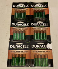 24 Duracell Rechargeable AA Alkaline Batteries Battery 2500mAh NiMH 1.2v NEW