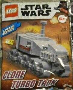 LEGO DISNEY STAR WARS CLONE TURBO TANK POLYBAG LIMITED EDITION 912176 NEW age 6+