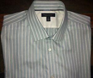 Men's Banana Republic Long Sleeve Slim Fit Non Iron Shirt - XXLT 2XLT