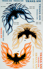 1/12 PONTIAC TRANS-AM FIRE BIRD LOGO 3pcs for DOYUSHA OTAKI NICHIMO TAMIYA