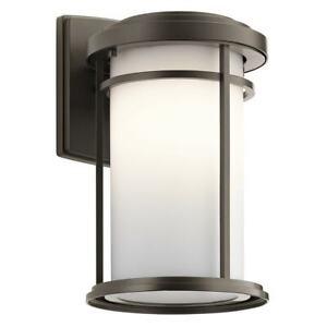 Kichler Lighting 49686OZ Toman - One Light Outdoor Small Wall Lantern