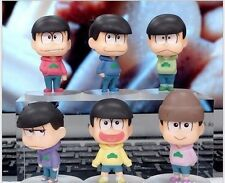"3"" Anime Mr.Osomatsu San Collectable Model 6pcs Set PVC Figure Loose Pack"