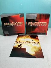 MacGyver The Complete Series Dvd Show 2007 39-Disc Set 139 Episodes Free Ship