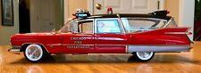 1959 Cadillac Superior Chicago Fire Dept. Ambulance 1:18 Precision Miniatures