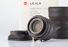Leica M Summicron 35mm F2 ASPH OVP 11879 SHP 66764