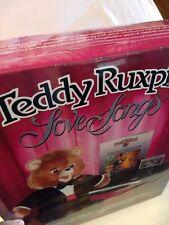 New ListingVintage Teddy Ruxpin Tuxedo Love Songs & Cassette