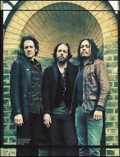 The Magpie Salute Rich Robinson Marc Ford John Hogg 8 x 11 color pinup photo