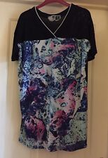 Fenchurch Baseball Style Tunic Top, Size 12 - Fab!