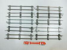 BW98-1 #10x Märklin Escala 0 Piezas de vía Recto (26cm) para Accionamiento Reloj