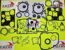 Harley Twin Cam 1450/1450cc Full Top End+Base Gasket Kit w/030 MLS Head 99-06