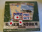 New Desert Storm Desert Shield Cards 1991 Pro Set 34 Packs Unopened