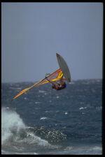 370011 Windsurfer vola in alto OFF WAVE A4 FOTO STAMPA
